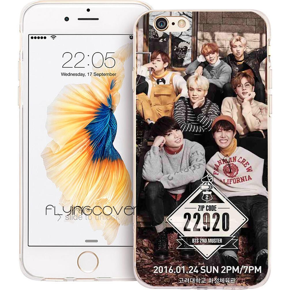 Clothes, Shoes & Accessories Phone Cases Bts Bangtan Boys Cute Cartoon For Iphone X 10 5 5s Se 6 6s 7 8 Plus High Quality Clear Soft Tpu Silicone Coque Cover Kids' Clothes, Shoes & Accs.