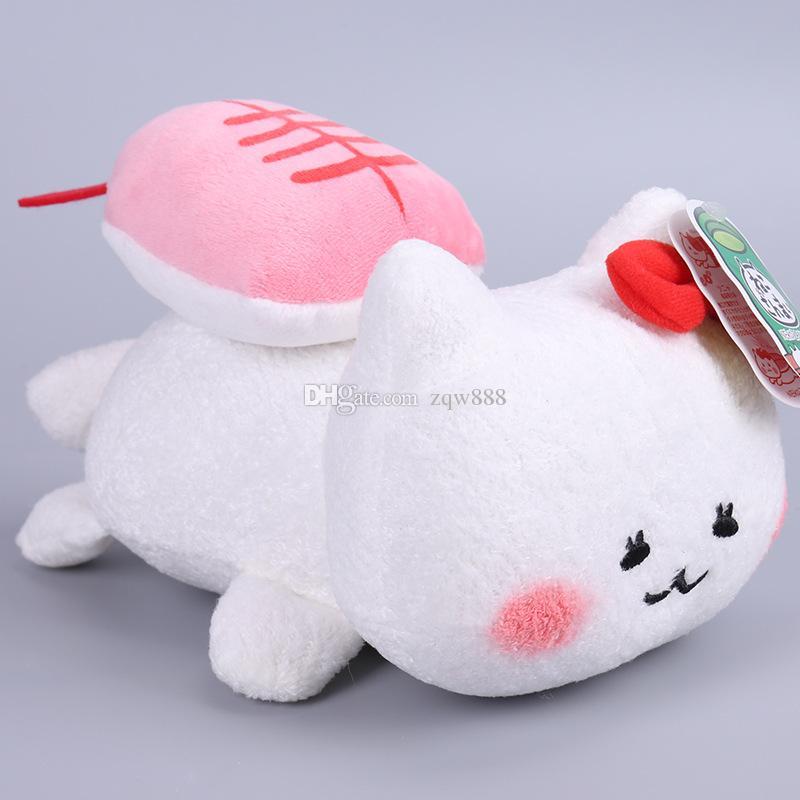 Hohe Qualität 100% Baumwolle Japanischen Anime AMUSE Sushi Katze Plüsch Puppe Spielzeug Für Kind Besten Geschenke 7