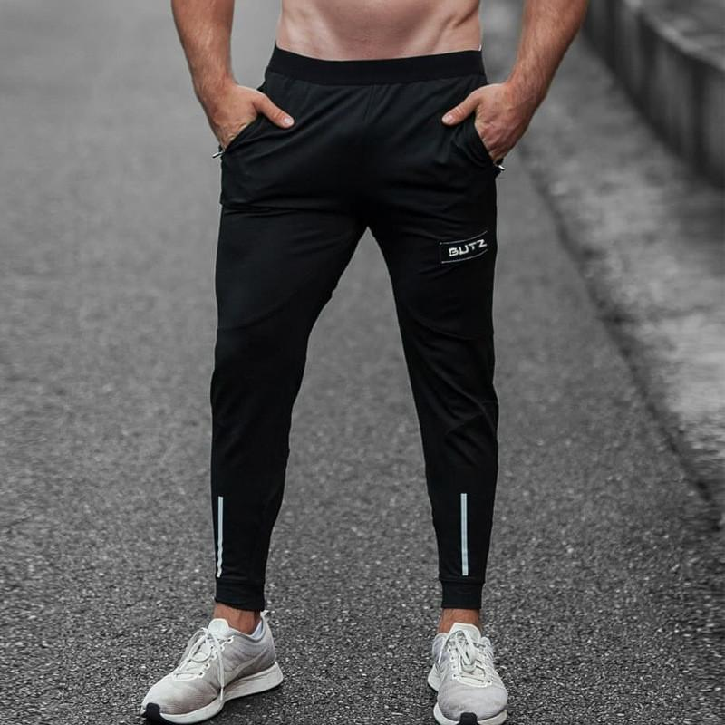 88469d6b63a23 2019 2018 Autumn Winter Men Fitness Sweatpants Male Gym Bodybuilding Workout  Cotton Trousers Sports Jogger Sportswear Running Pants From Yiquanwater