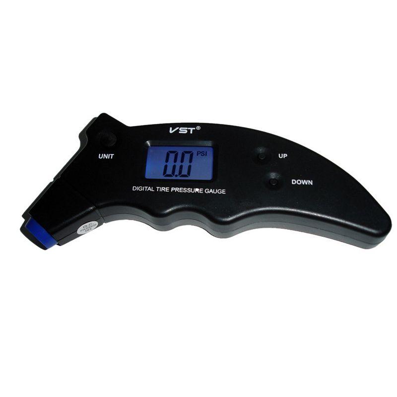Цифровой автомобиль шин манометр манометр высокой точности ЖК-подсветка 3-150PSI блок шин давления воздуха метр тестер монитор диагностический инструмент