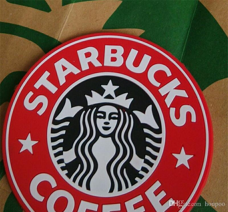 Fashion 8.5cm Silicone Coasters Thermo Cup Cushion Holder Starbucks Sea-maid Coffee Mugs Water Bottle Mat