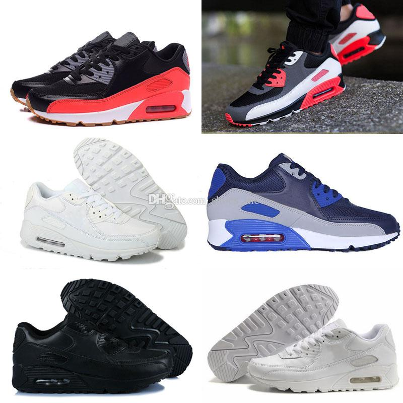 ce9954636402 New 90 Low Running Shoes For Men Women Cheap AM 90 Sport Shoes ...
