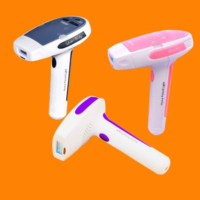 Mode HR001 MOQ 1 Heimgebrauch Laser-Haarentfernungsmaschine kommt mit zwei IPL Elpilator für dauerhafte Haarentfernung Hautverjüngung