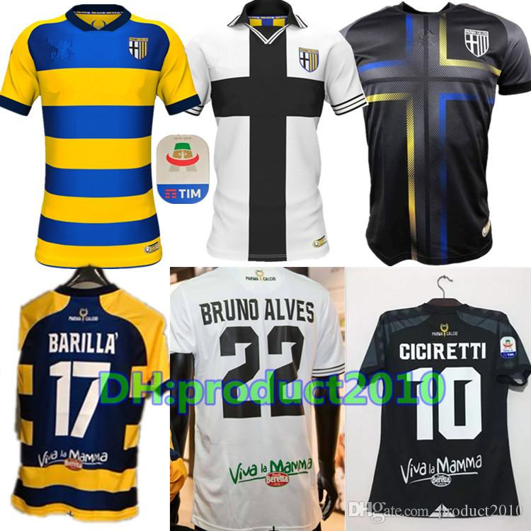 Best Quality 2018 Parma Home Adults Football Jersey 6 Lucarelli 22 ... 22dcd2042