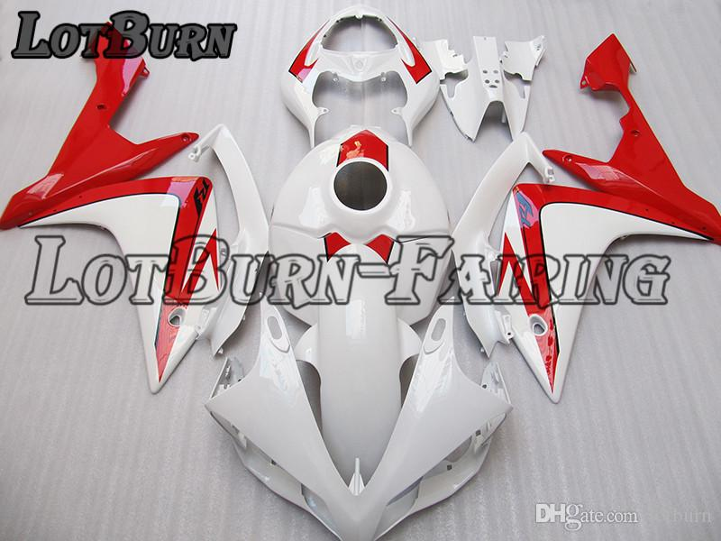 Fit For Yamaha YZF R1 YZF-R1 YZF1000 R1 2007 2008 07 08 Motorcycle Fairing  Kit High Quality ABS Plastic Injection Molding Custom Made C725