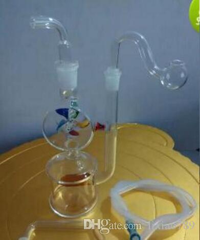 Wholesale Hookah - Hookah glass windmill, send accessories dfng45