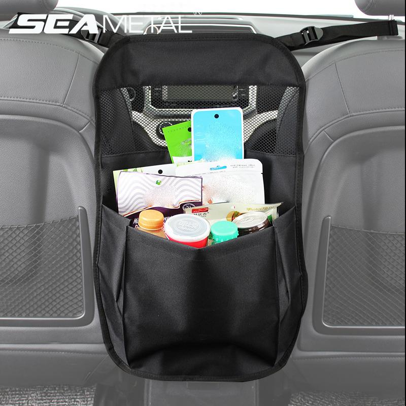 Car Seat Back Storage Seatback Organizer Pocket Bag Holder Automobiles Travel Interior Accessories Stowing Tidying For Women Sew Small Trunk