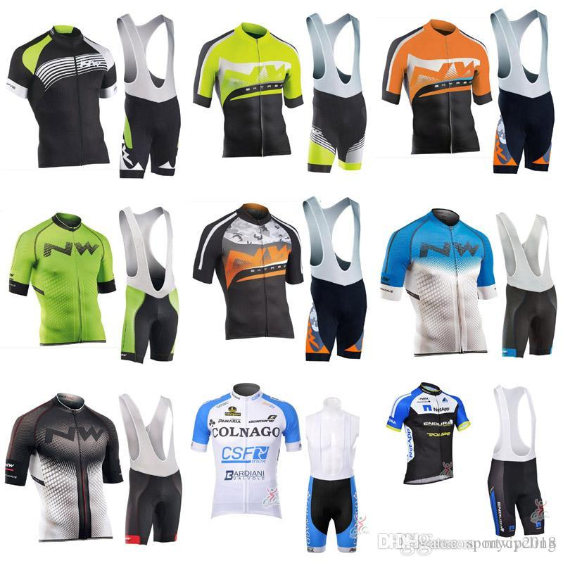 NW NETAPP Bicycle 2018 COLNAGO Men Summer Cycling Short Sleeve Jersey Shirt  MTB Maillot Ciclismo Hombre Bike Bib Shorts Set Clothing 3308 NW NETAPP  COLNAGO ... 7351cfbcf