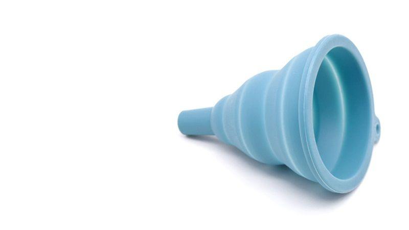 Aceite Hoppe Plegable Telescópico Multifunción de silicona ECO Amigable Nuevo embudo Utensilios de cocina Ensalada Herramientas Venta caliente 1 8hy V