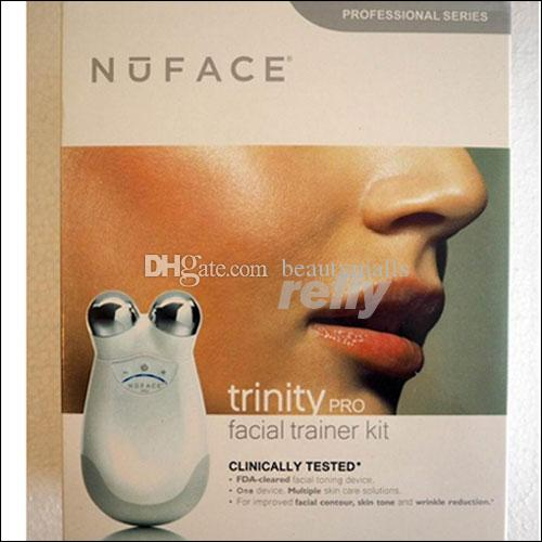 Nuface Trinity Pro Big Package Facial Trainer Kit Skin Care Tool DHL Shipping