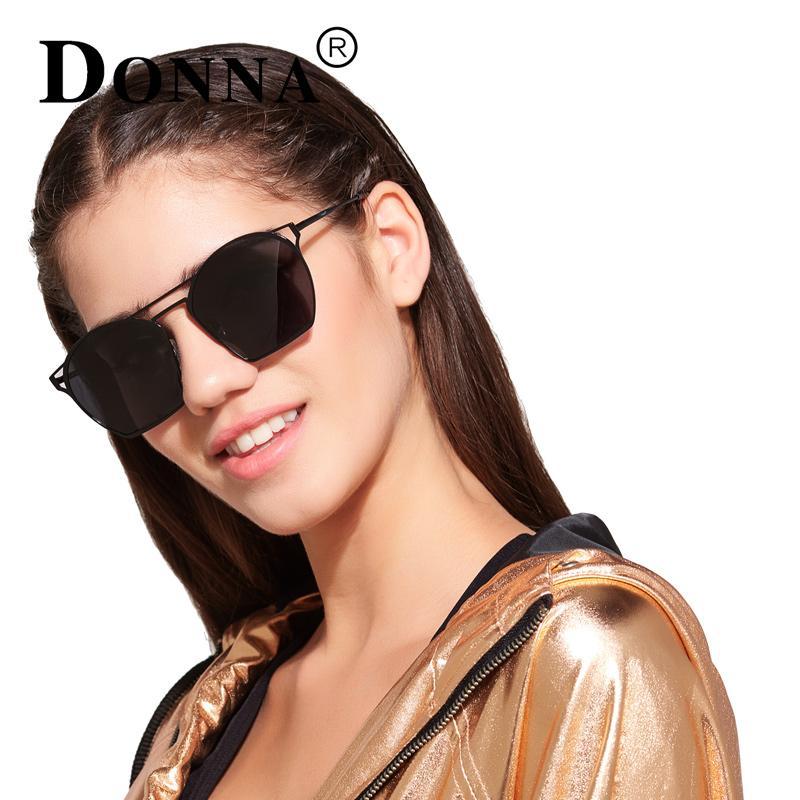 9bb0cb9c18 Donna Polarized Irregular Lenses Parallel Bars Frame Sunglasses Women  Fashion Style Sun Glasses Fine Legs For Women D62 Womens Sunglasses  Sunglasses Sale ...