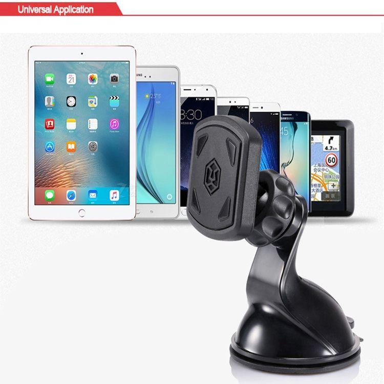 Универсальный лобовое стекло приборной панели Магнитный держатель автомобильный телефон крепление универсальный для смартфона, GPS и планшета
