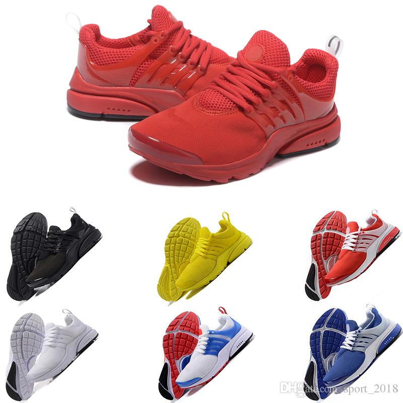 huge discount 51926 50c4f Fashion Prestos 5 V ULTRA Running Shoes For Men Women Yellow Blue Grey  Purple Pink Prestos BR QS womens Sneakers US 5.5-11