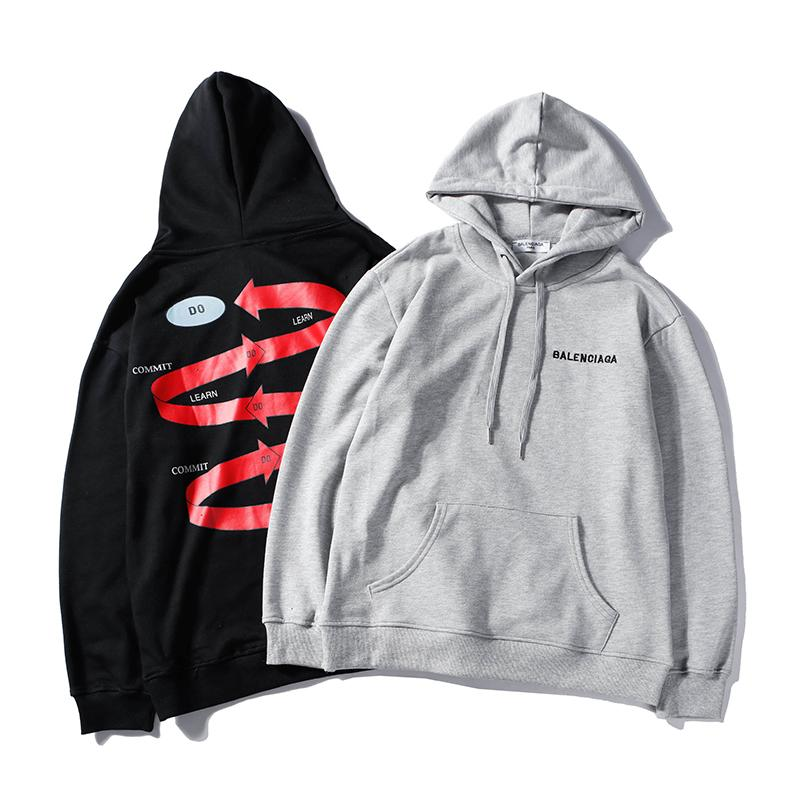 17caaa4ae12 BB hoodies men women spring autumn winter hoodies cotton unisex sweatshirts  tide skateboard tops sweater size M-XXL