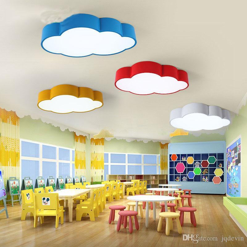 Großhandel Led Deckenleuchte Wolke Lampe Led Wohnzimmer Schlafzimmer ...