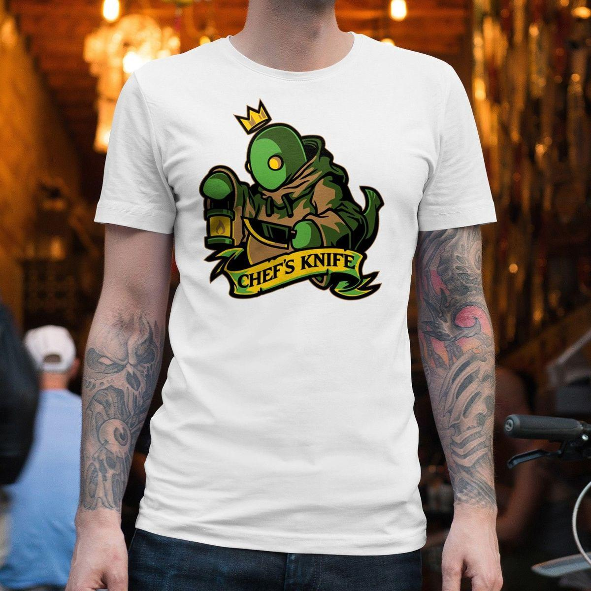 T-SHIRT UNISEX DI TONBERRY CHEF COLTELLO | Final Fantasy, Videogames