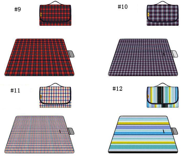 Европейский открытый путешествия пикник коврик водонепроницаемый ткань Оксфорд влагостойкие барбекю газон коврик кемпинг влажной доказательство подушки