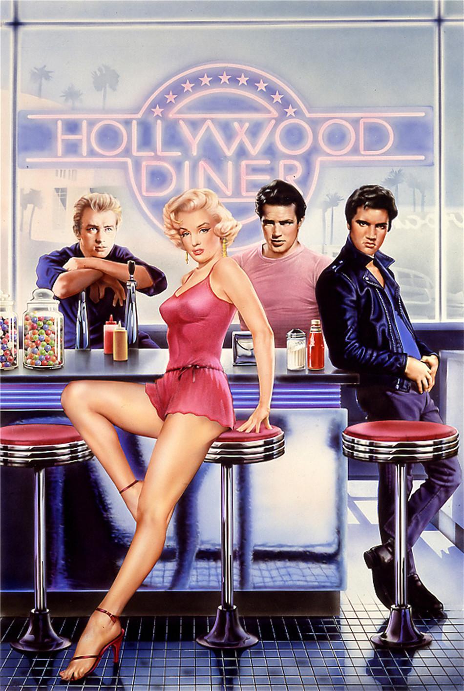 2019 Marilyn Monroe James Dean Elvis Presley Humphrey Bogarhome