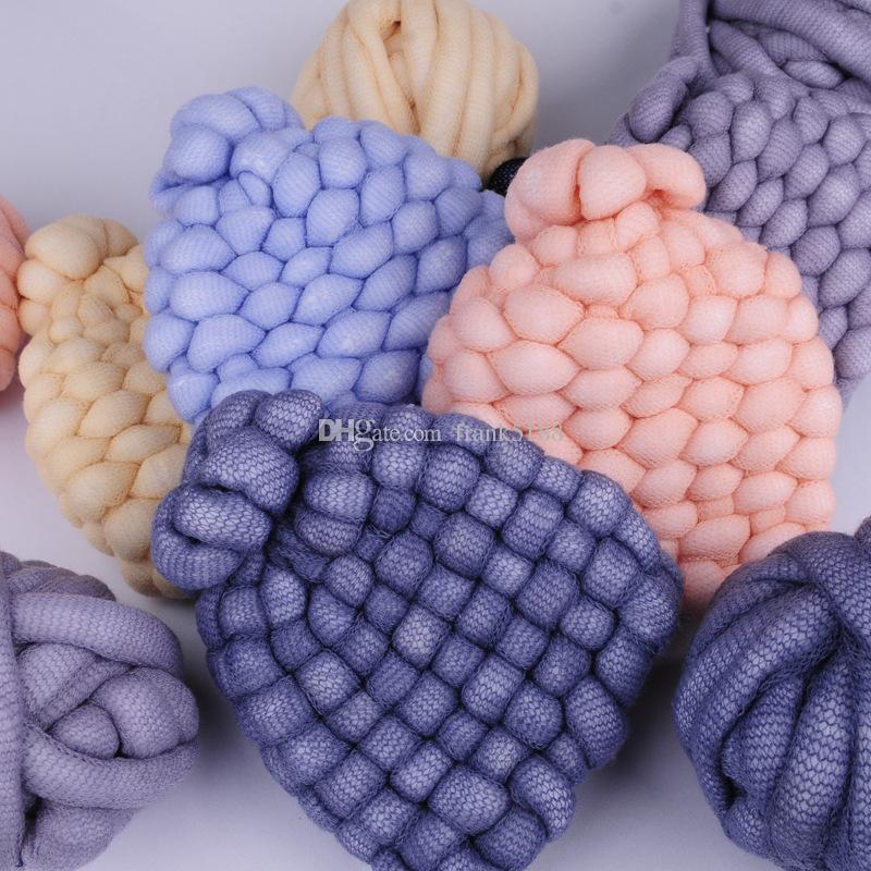 Großhandel 500g Ball Wolle Super Chunky Garn Sperrig Roving Garn