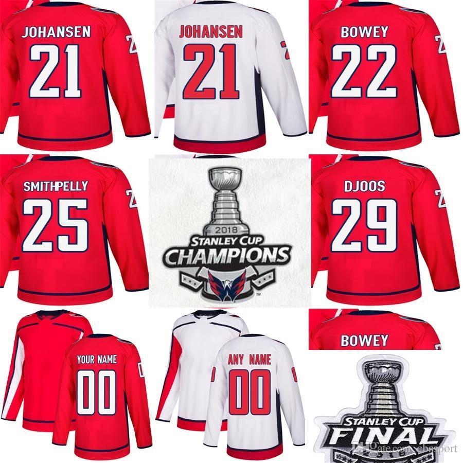 Compre 2018 Finalistas De La Copa Stanley Stanley Capitals De Washington 21  Lucas Johansen 22 Madison Bowey 25 Devante Smith Pelly 29 Djoos Hockey  Sobre ... 0f36df2af296