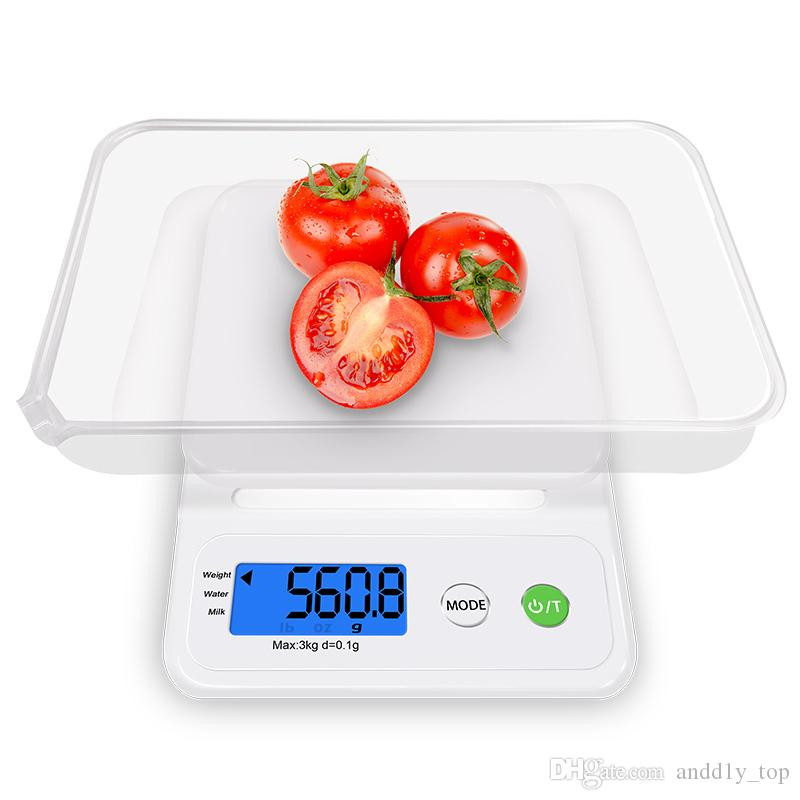 Best Kitchen Scales Weight Lcd Display Accurate Portable Lcd Digital  Electronic Digital Pocket Scale Jewelry Weight Electronic Balance Scale  Under $9.21 ...