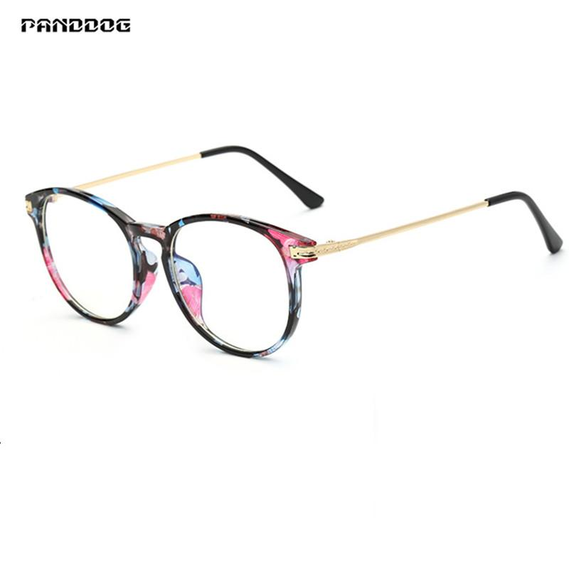 b8e8b83c06 Compre PANDDOG Gafas De Marco Óptico Gafas Antirradiación Gafas De  Computadora Marcos Con Estuche Y Tela JF8616 A $22.66 Del Gocan   DHgate.Com