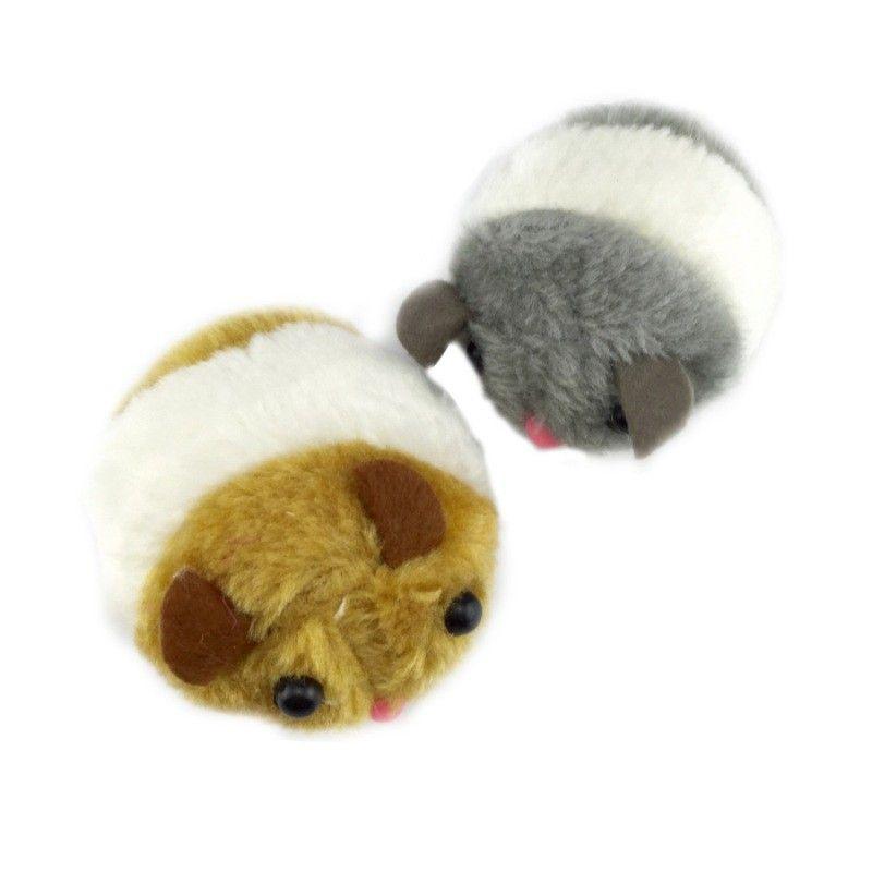Cat Toys Pulling Chain Shock Shake Interactive Pet Cat Toys Rat Artificial fur