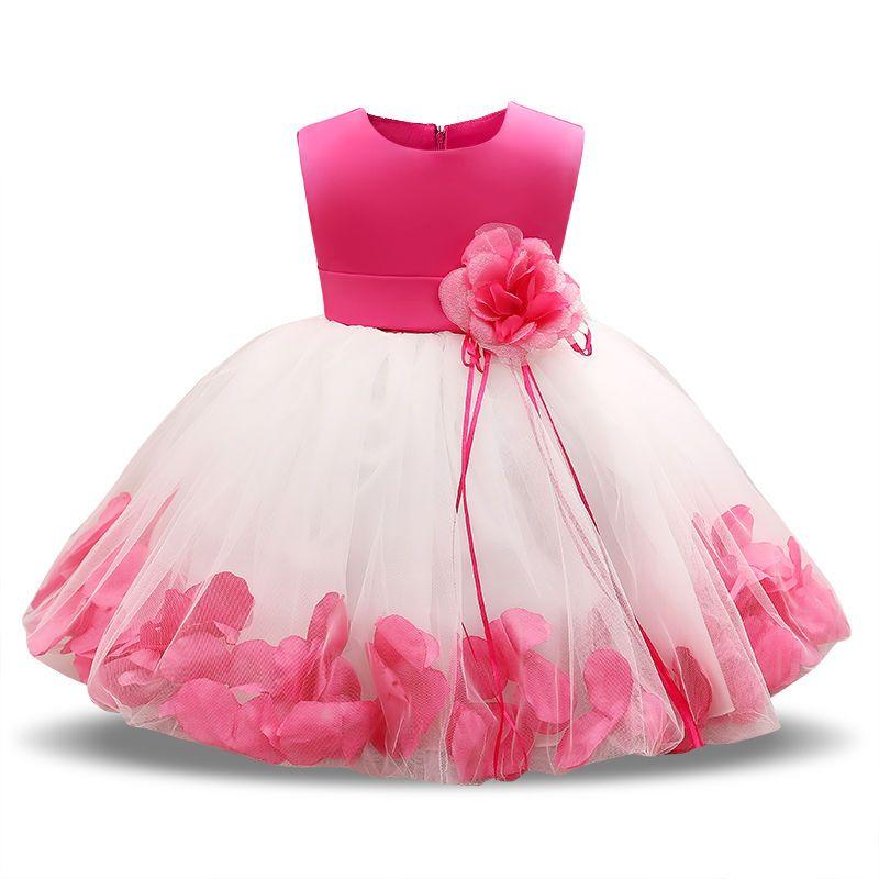 1dbf3b9e8 2019 My Baby Girl Dress 1 Year Birthday Dress For Girl Christening ...