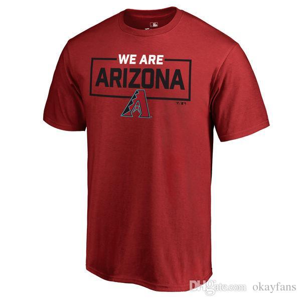 dd34a82a1 Arizona Baseball T-shirt Paul Goldschmidt JAKE LAMB ZACK GREINKE ...