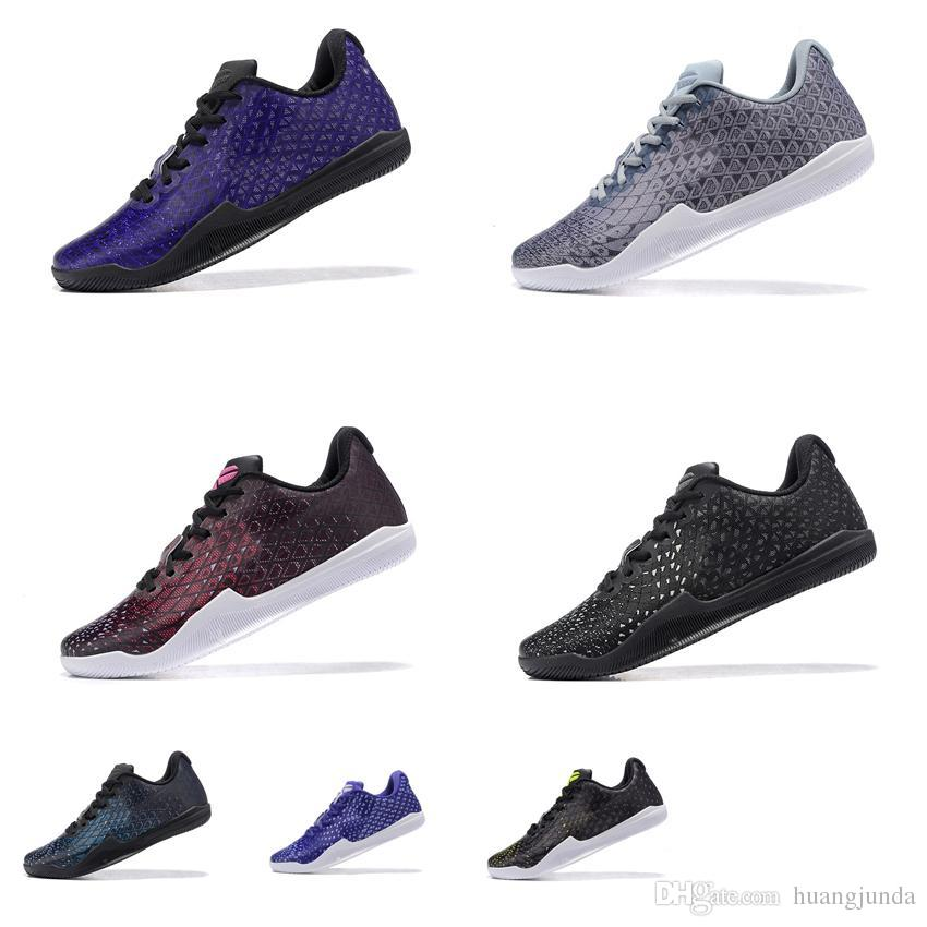 656b027b1ee 2019 Cheap Men Kobe Mentality Basketball Shoes Blue Purple Black White Red  Wolf Grey Kb Elite Low Cuts Sneakers Boots Tennis For Sale With Box From ...