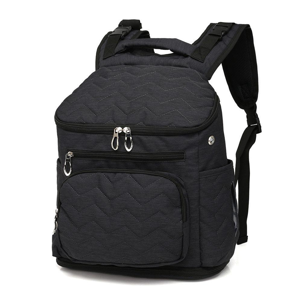 60b54608a8 2019 2018 New Style Baby Bag Backpack Nylon Nursing Bottle Nappy Backpack  Large Capacity Multi Purpose Mummy Travel From Xunqian, $35.92   DHgate.Com