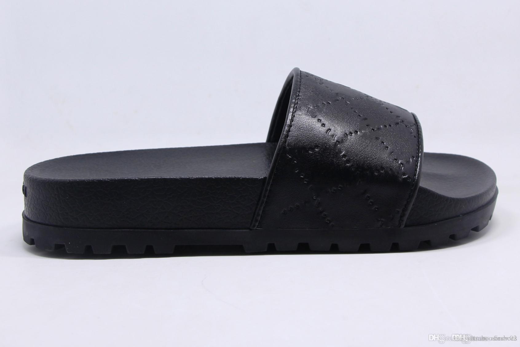 Goma De Chanclas Zapatillas Moda A Top Mujer Antideslizantes Huaraches Con Piel Hombre Tira Diapositivas Sandalias Rayas Causales Verano DYIeWEH29