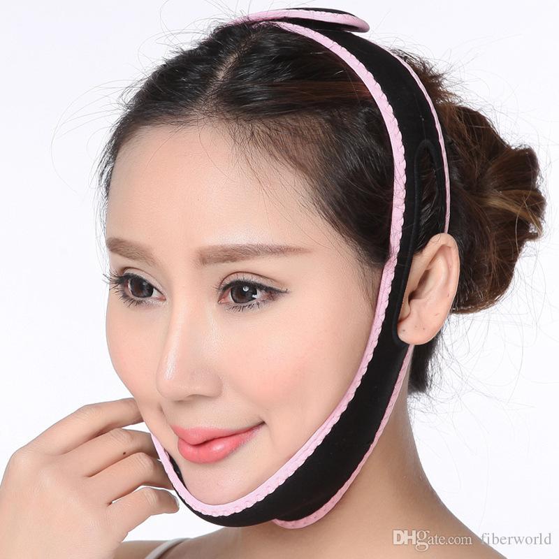 Toptan Yüz germe Cihazı Faciacl Beautyhealth aracı Ince Yüz Masajı Bandajlar V Yüz Düzeltme Yüz Şekillendirici Yüz Slimmer Maskesi