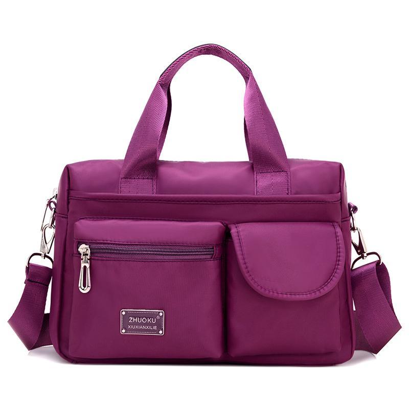 d41a926ef1 Top Handle Shoulder Bag Luxury Handbags Women Messenger Bags Designer Nylon  Female Beach Casual Tote Purse Sac Femme Designer Handbags On Sale Fiorelli  ...