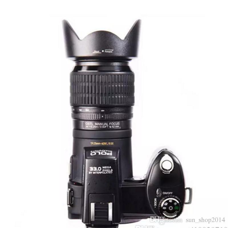 PROTAX POLO D7200 24X Optik Zoom Dijital Kamera 33MP TAM HD1080P 3 Modu Tamamlayıcı Işık Otomatik Odaklama Profesyonel Kamera