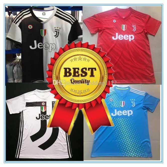 2019 Best Thai Quality Juventus 19 20 Club Soccer Jersey Juve 2019 2020  Buffon MARCHISIO DYBALA HIGUAIN Ronaldo MANDZUKIC Serie A Football Shirt  From ... 5195e11f8