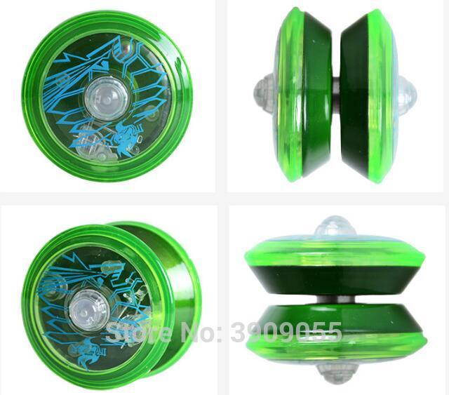 Cute Light Up YoYo Ball for Magic Jling Toy Fancy Moves Flashing LED selection