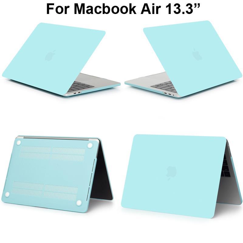 low priced 67da3 5053d Matte Protector Cover For Macbook A1466 A1369 Case Sleeve Macbook.3 Bag  13.3 Matt Shell Air13 Capa Pouch