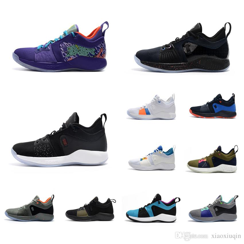 670afcc5878 2019 Cheap Men PG2 Paul George Basketball Shoes For Sale Mamba Mentality  Kobe New Arrival PG 2 Elite Sneakers Tennis With Box Size 7 12 40 46 From  ...