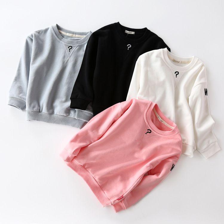 840a8dcc 2019 Baby Girls Boy Sweatshirt Kids Long Sleeve Tops 100% Cotton 2017 Brand  Winter Clothes Girls Boy T Shirts Hoodies Children Clothing 2 7T From ...