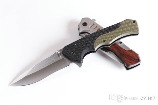 Top qualité Nouvel arrivé Brow F17 Tactical couteau pliant G10 + manche en acier Survival Pocket couteau pliant couteaux avec boîte de papier d'origine