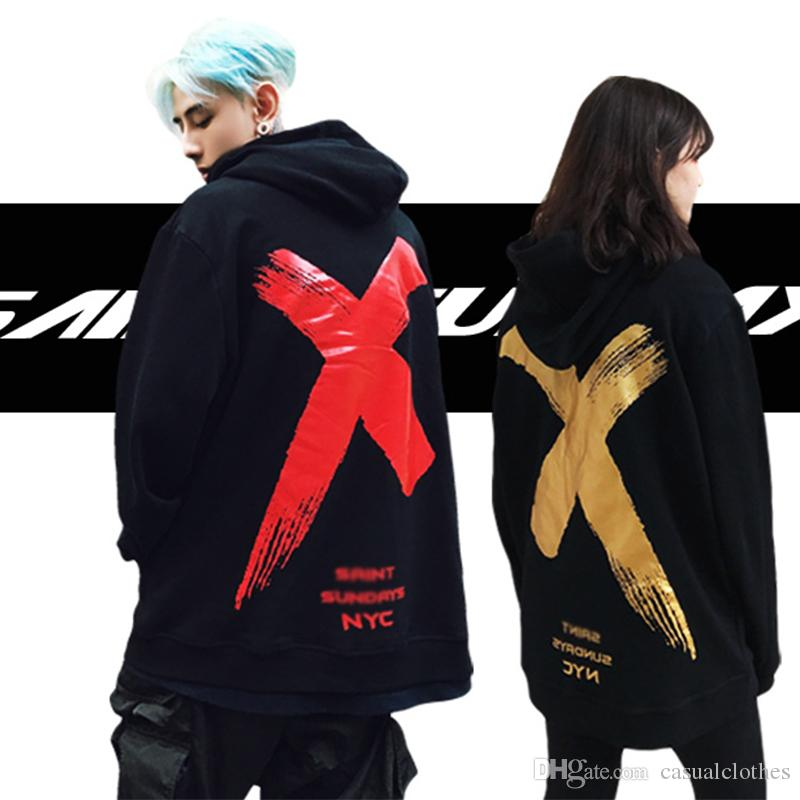 2fe0f220719c 2019 Fashion Mens Hoodies Sweatshirts Couples Clothing Dazzle Cool Hip Hop Comfortable  Clothing Spring Autumn Students Clothes Cheap Price From ...