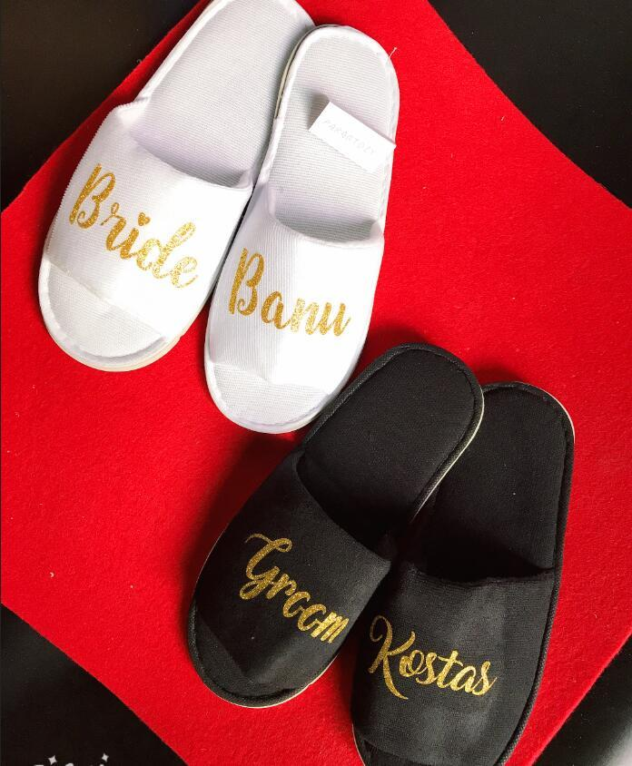 02f06e519 Personalized Wedding Slippers