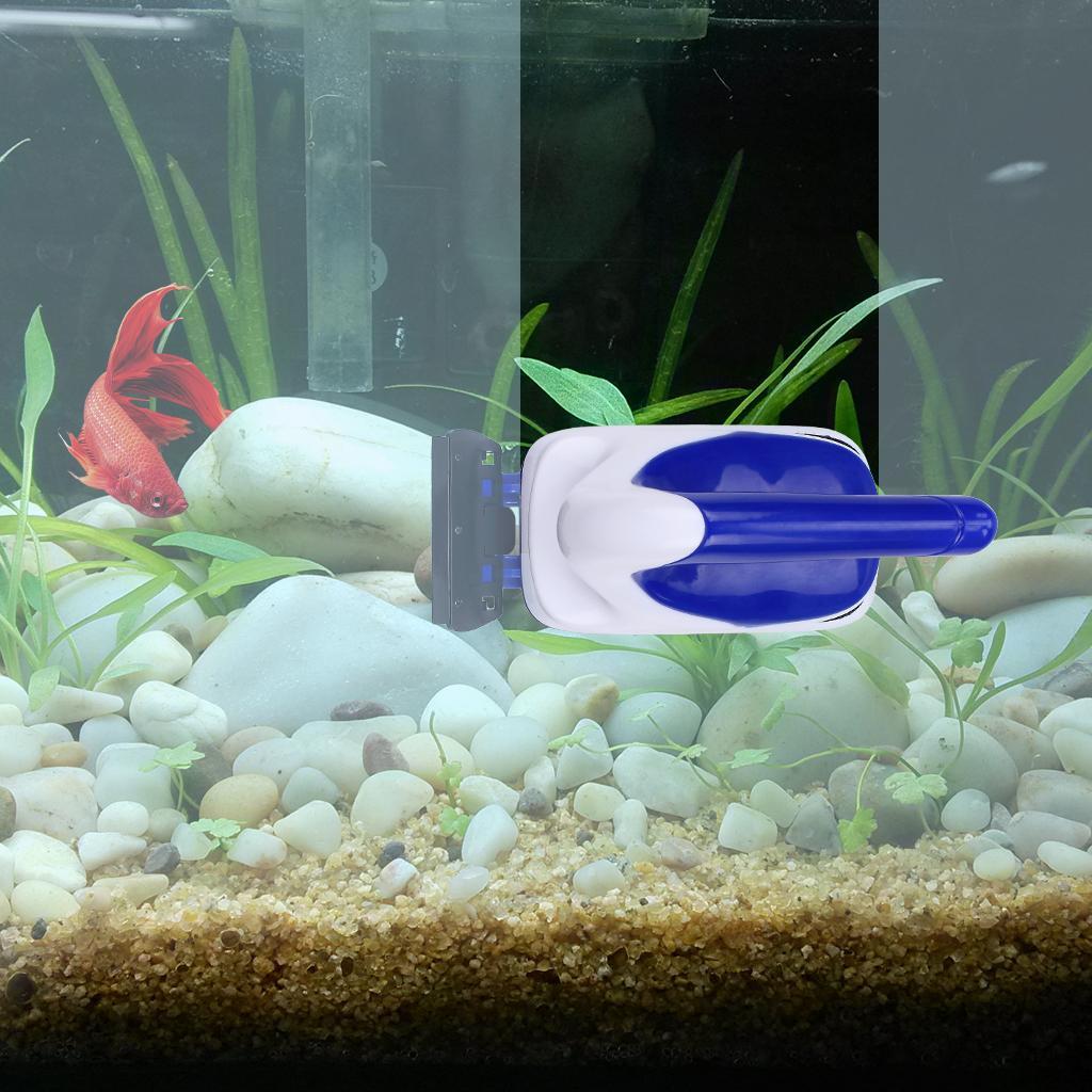 Magnétique Aquarium FishTank Verre Algues Cleaner Poignée Conception Scrubber Flottant Brosse Propre Avec Grattoir Gros Livraison Gratuite