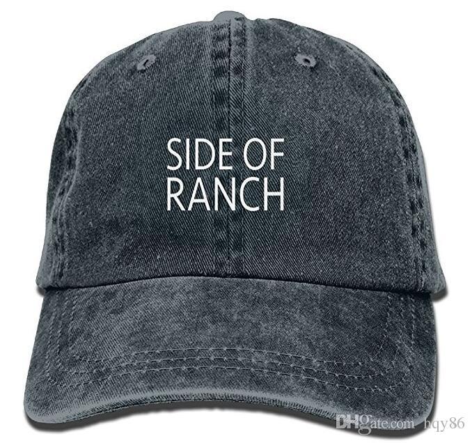6d5e5f933d Compre Gorra De Béisbol Con Diseño De Vaquero Ajustable Lateral De Ranch Of  Ranch A  8.09 Del Hqy86