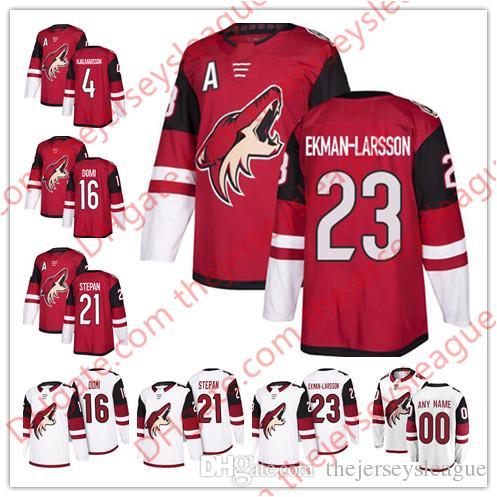 Arizona Coyotes 2018 Hot  4 Niklas Hjalmarsson 16 Max Domi 21 Derek ... d71179a1c