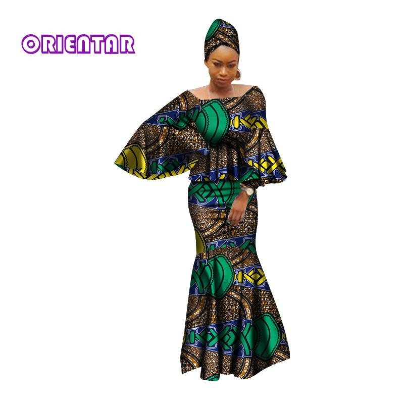 8f41c453c99 African Dresses for Women 100% Cotton 2018 New African Fashion Kanga ...