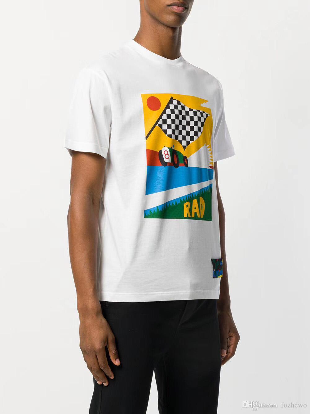 55eab1c4 Men T-shirts Luxury Europe Brand Designer Italy Lady Boat Cacti ...