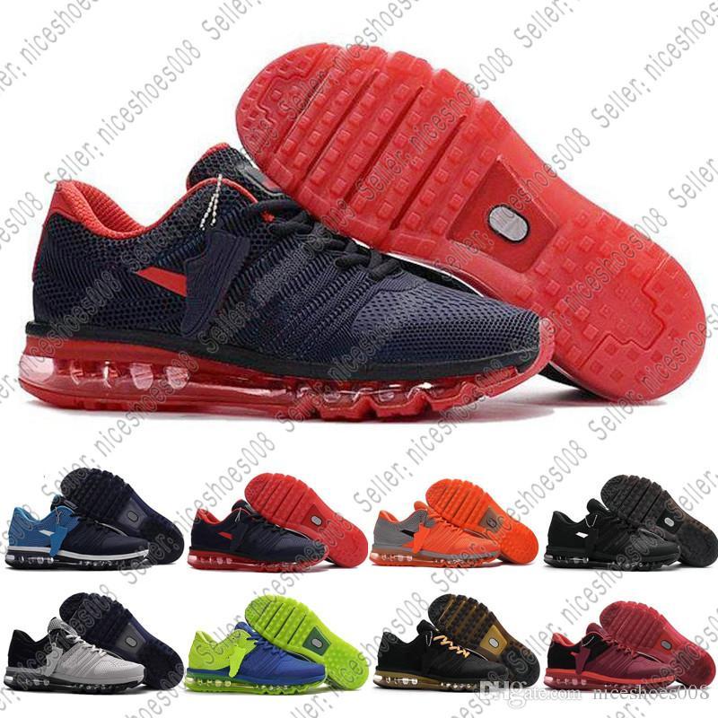 2017 Hombres Kpu Air Mujer Max Zapatos Más Nike Airmax Para Nuevos XItwSq