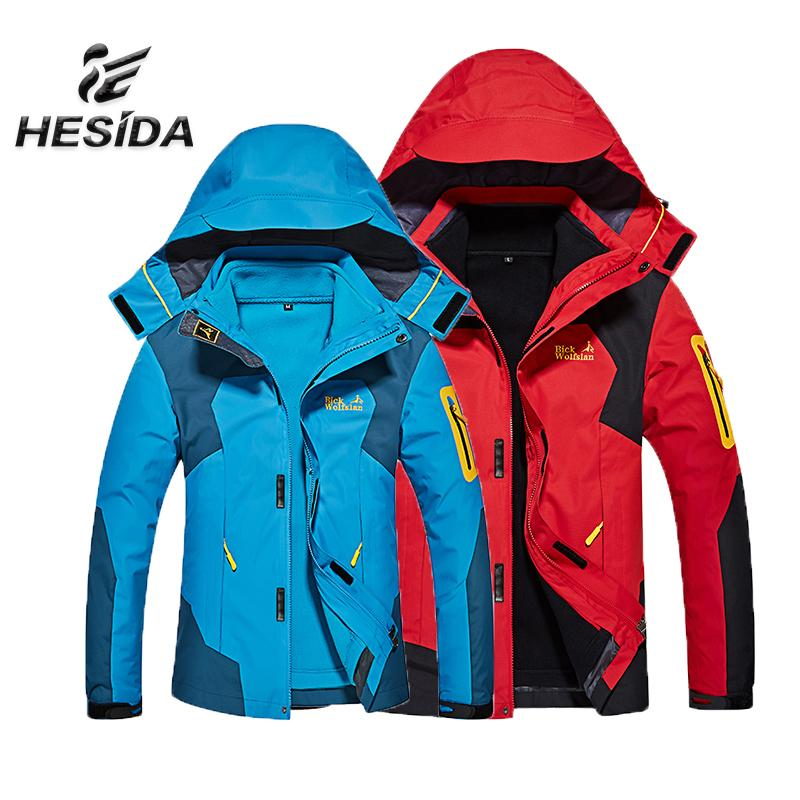 Heated Hunting Clothes >> 2019 Men Jacket Hiking Clothing Heated Sport Hunting Clothes Winter